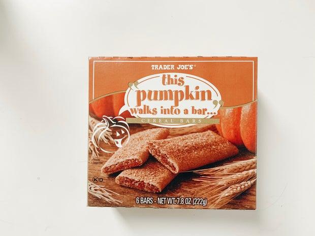 trader joes pumpkin granola bars