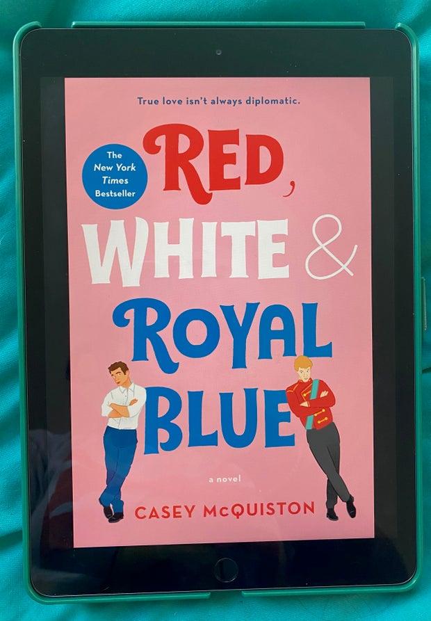 Red White & Royal Blue Casey McQuiston Cover