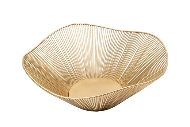 gold wire bowl