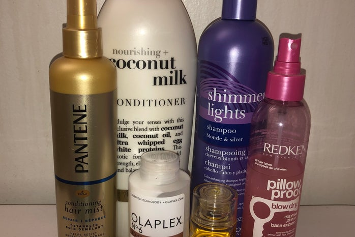 Hair Products mentioned in article