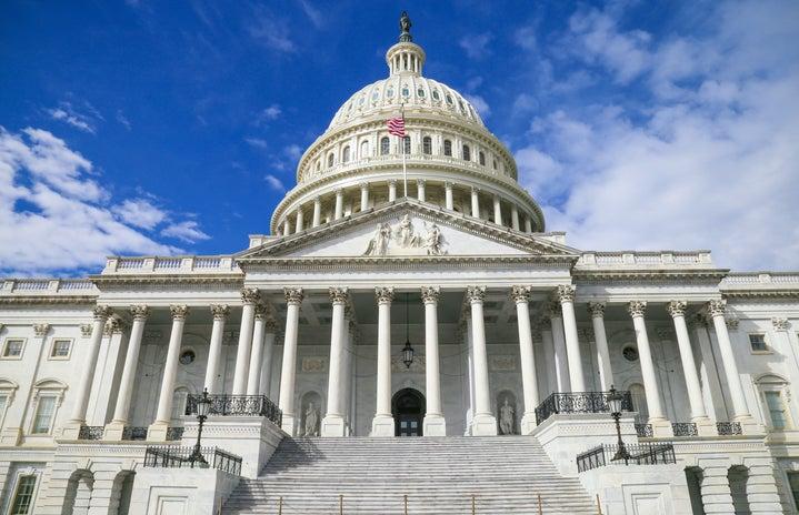 U.S. Capitol building in Washington DC