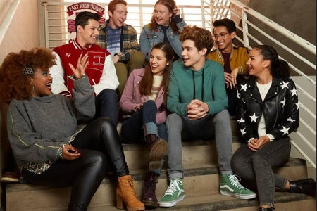 Photo of the High School Musical The Musical:The Series cast