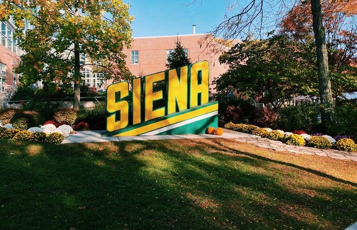 Siena College sign