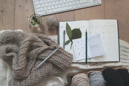 crocheting art hobby