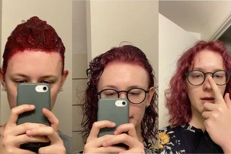 Freya's hair journey 1