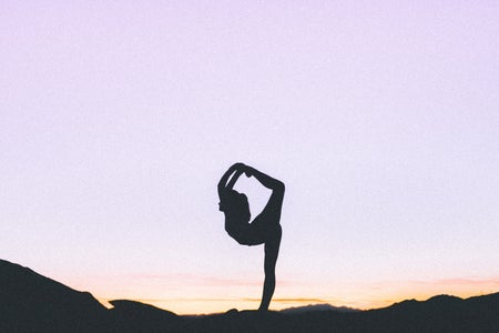 yoga sunrise