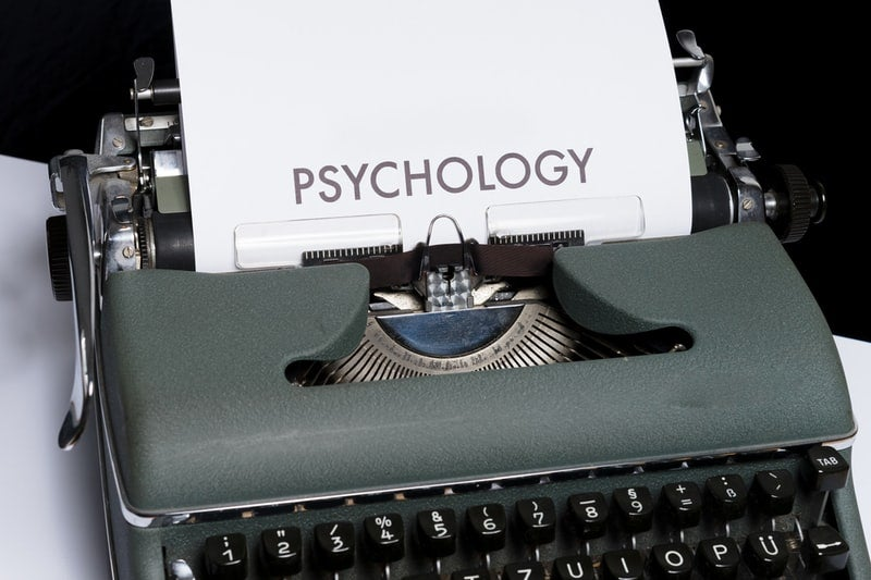 psychology and type writer