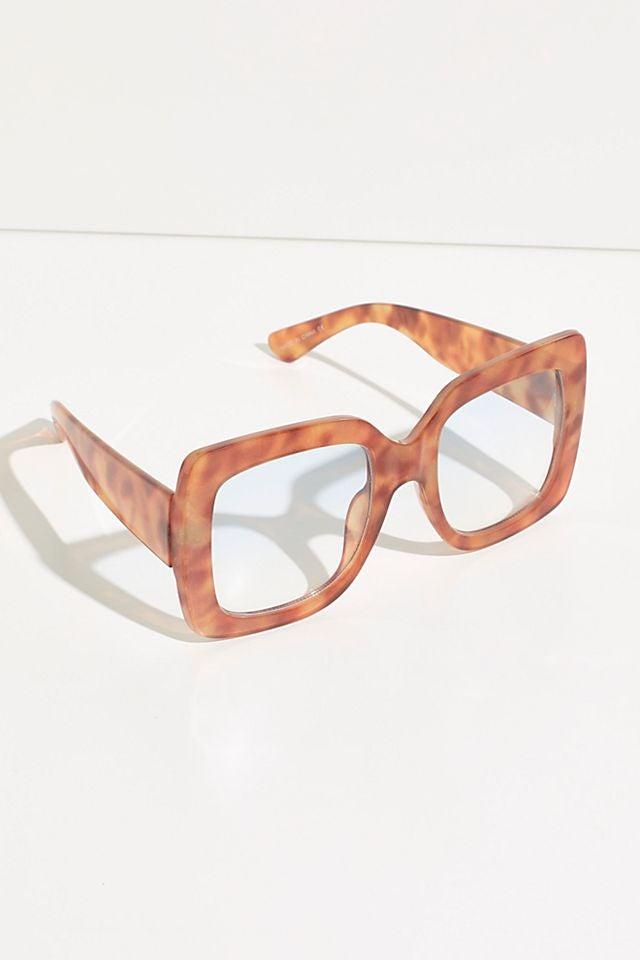 Sugar Oversized Square Glasses