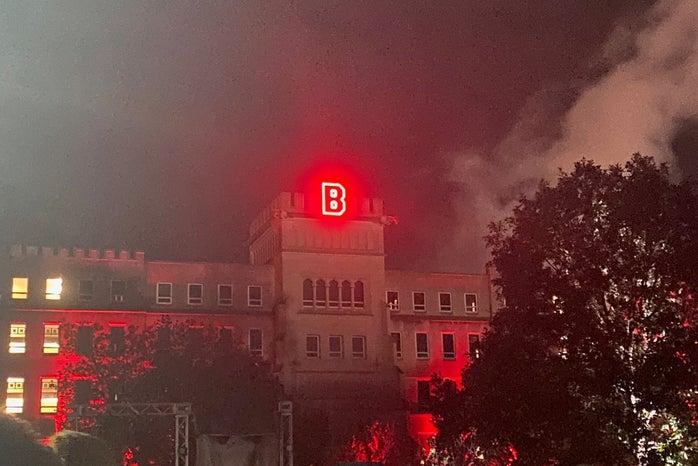 Lighting of the B