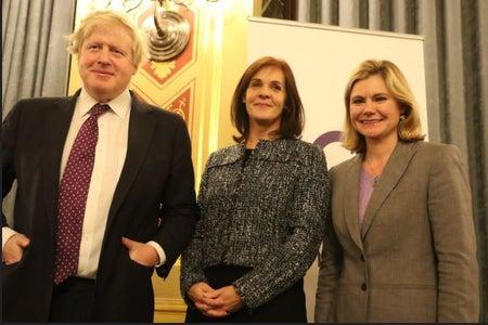Boris Johnson on International Woman's day