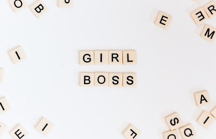 Girl boss scrabble