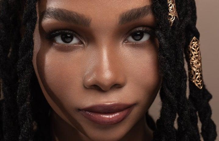 black Woman with dreadlocks