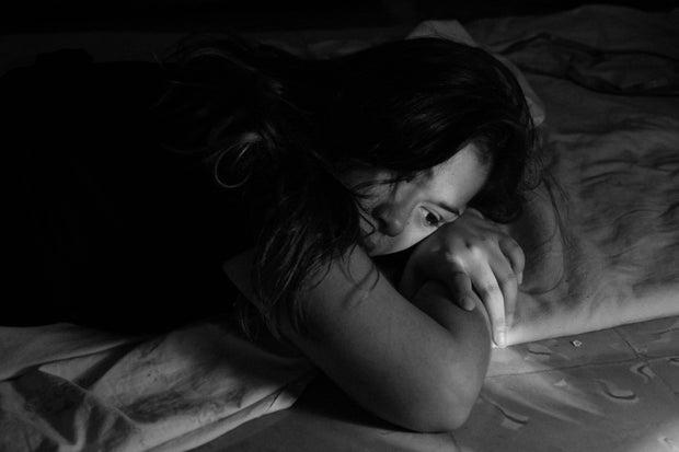 sad and alone girl breakup