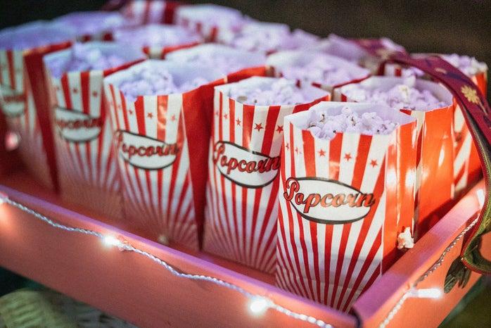 Popcorn in novelty bags
