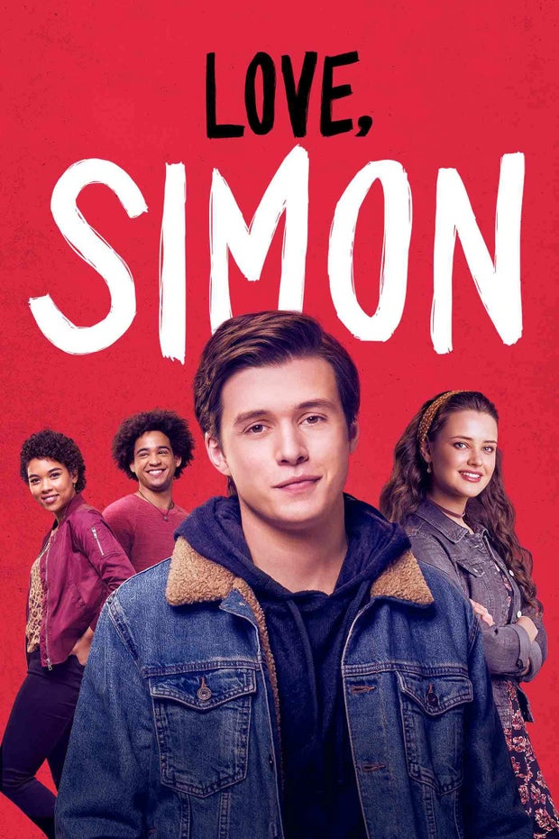 Movie poster of Love, Simon that was taken from one of the production companies' website