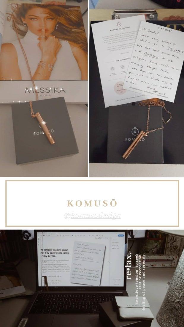 Komuso Design- rose gold shift