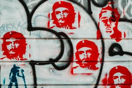 Grafitti of El Che Guevara