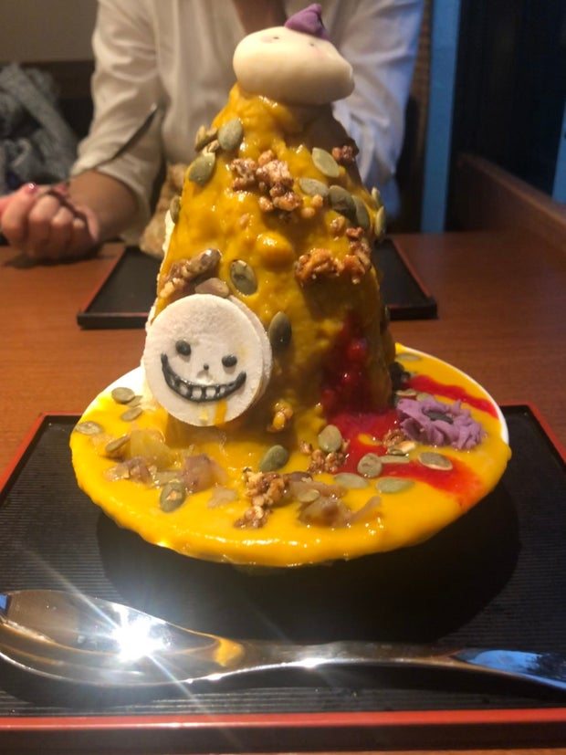 Japanese sweets, shaved ice