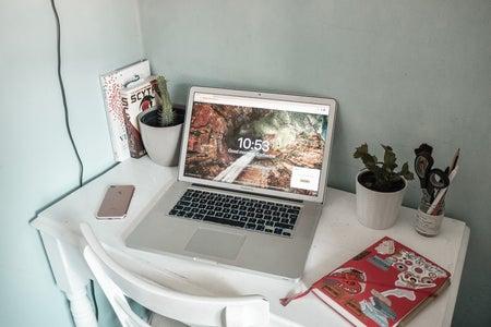 Kitty's desk