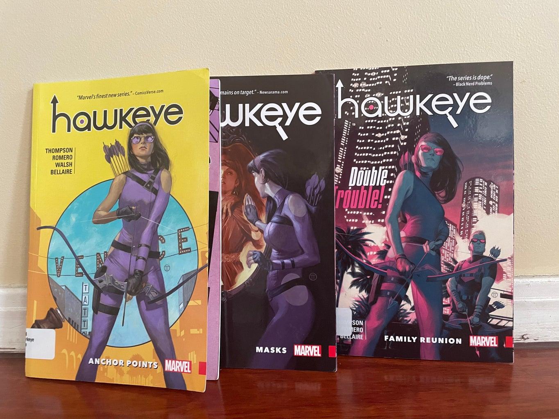 Hawkeye- Kate Bishop comics