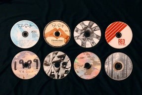 Taylor Swift\'s first 8 albums