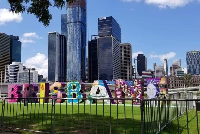 Brisbane, Australia sign