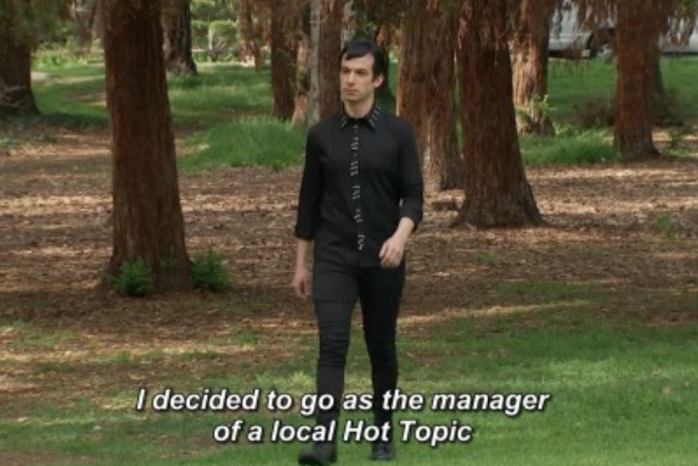 Screenshot from the show- Nathan For You