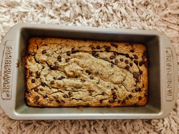 picture of zucchini banana bread