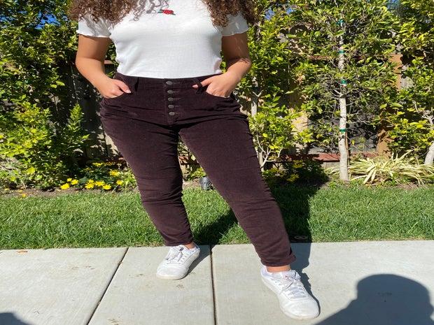 Corduroy pants casual edition