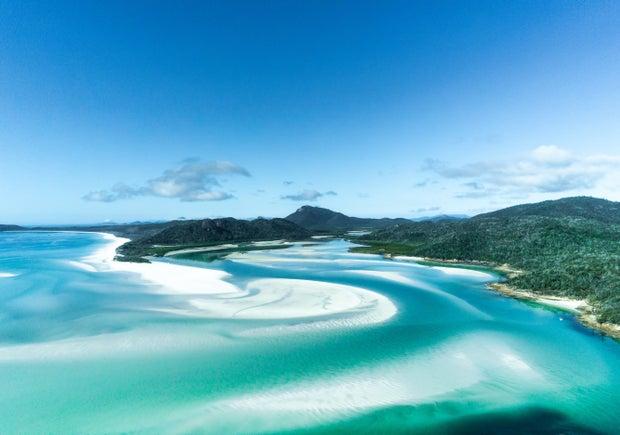 free land image in the Whitsunday Islands, Australia