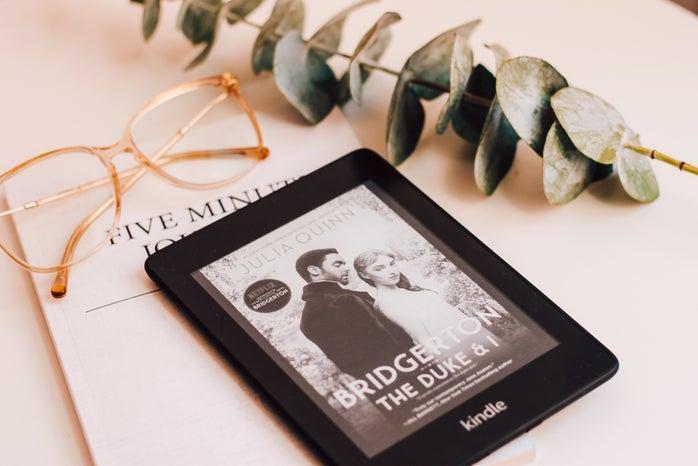 Bridgerton on Kindle