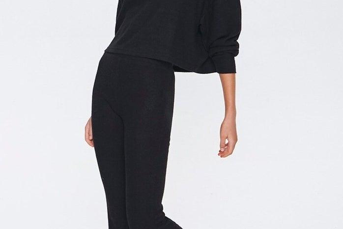black-flare-sweatpants-forever21
