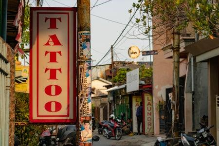 tattoo signage