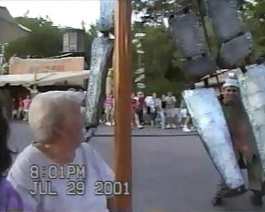 Grandma and Hammer Man