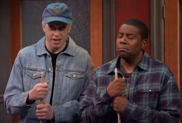 Pete Davidson and Keenan Thompson in