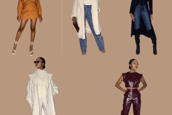 Hampton female student showcasing fall outfit ideas