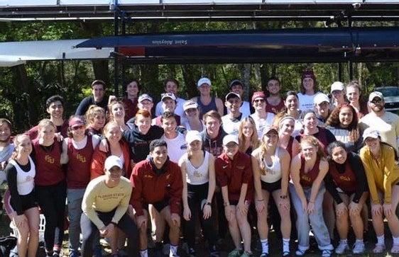 FSU rowing club 2020 spring
