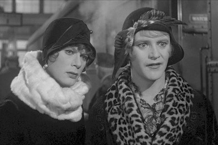 """Tony Curtis and Jack Lemmon in """"Some Like It Hot"""" (1959)"""