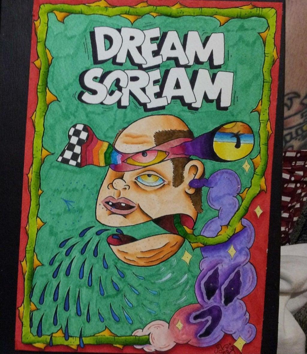 Matt colored art