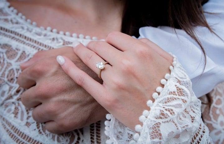 engagement ring photo