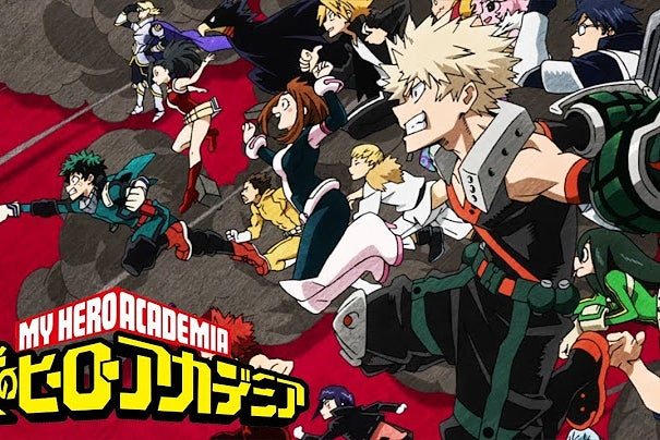 """Thumbnail from My Hero Academia Opening \""""Peace Sign\"""""""