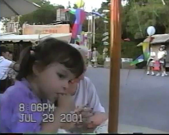 2y/o Emily watching a parade
