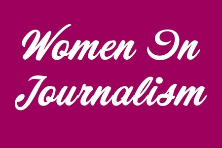 """Women in Journalism"" Graphic"