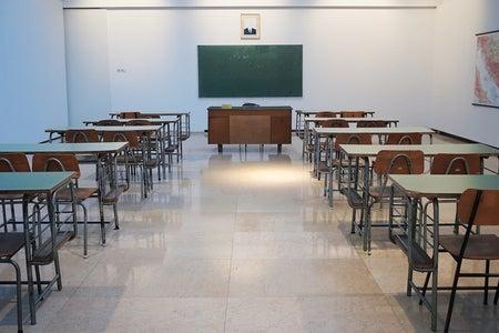 old school classroom
