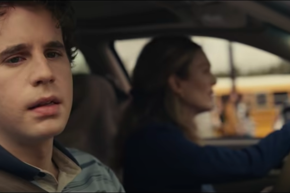 screenshot of Evan Hansen from Dear Evan Hansen movie trailer on Youtube by Universal Studios