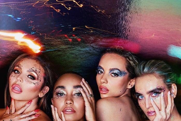 """Little Mix \""""Confetti\"""" album cover"""