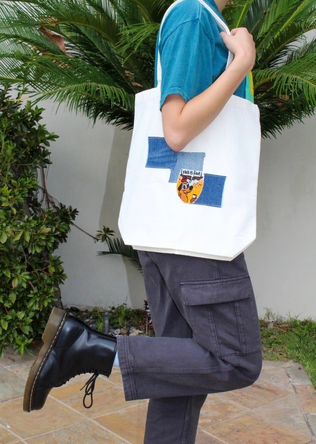 New LA Embroidery tote bag!
