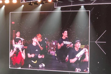 Picture of Got7 Concert