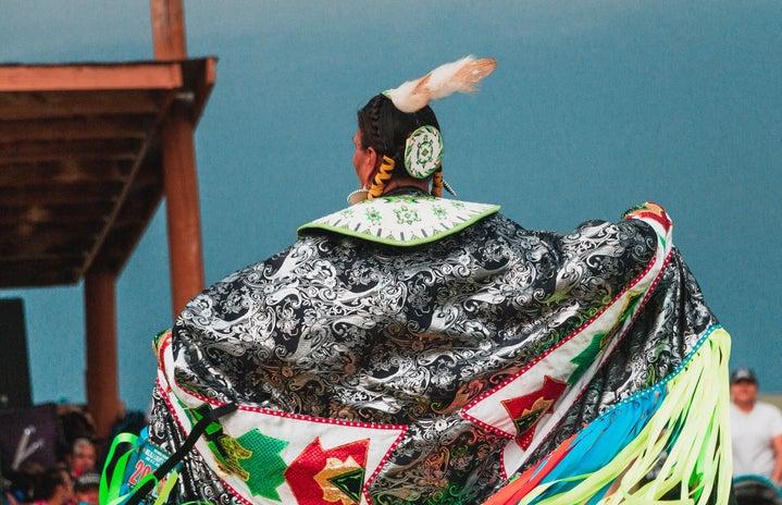 Lakota Woman at Pow Wow