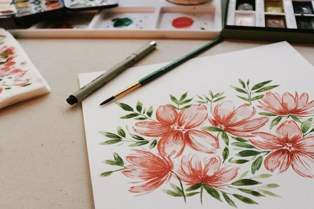 art watercolor painting